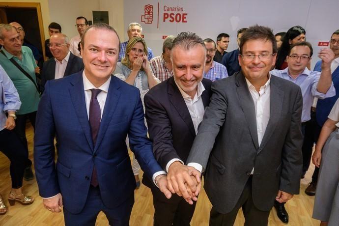 Presentación de las candidaturas del PSOE, ...