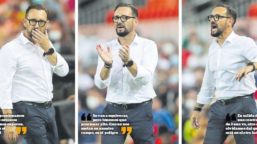 Bordalás es el líder del Valencia CF