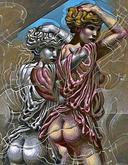 El artista Manolo Yanes inaugura  una reinterpretación  artística de los mitos