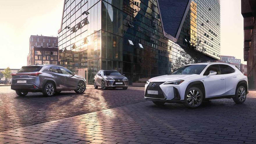 Descubre las últimas 4 unidades en oferta en los Blue Days de Lexus Alicante