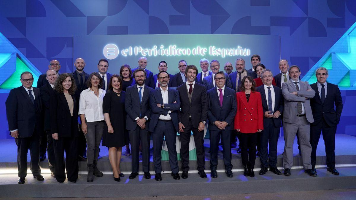 La presentació d'El Periódico de España, en imatges