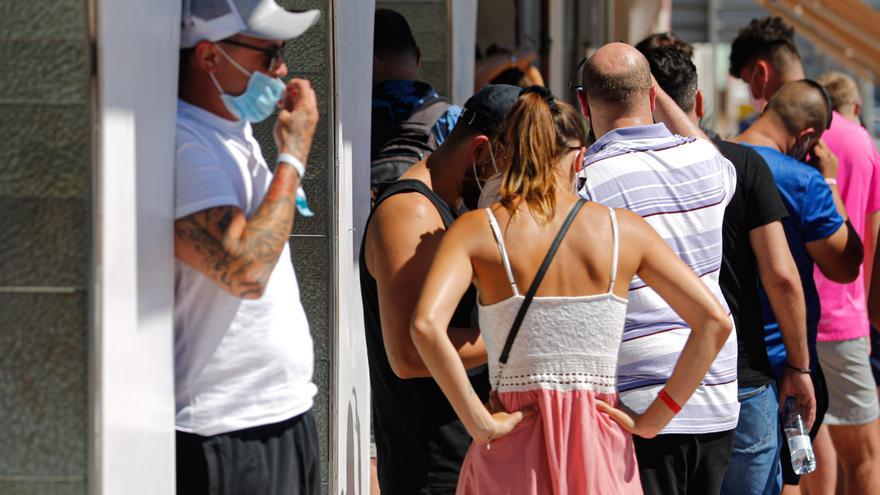 El aumento de la incidencia en Ibiza se ralentiza en la última semana