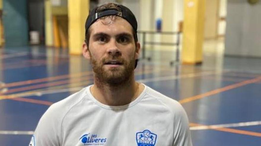 Rubén Nova participará en el Nacional de parabádminton
