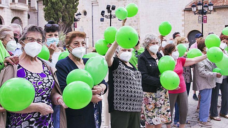 Gandia  Afa la Safor conmemora el  Dia Mundial  de l'Alzheimer