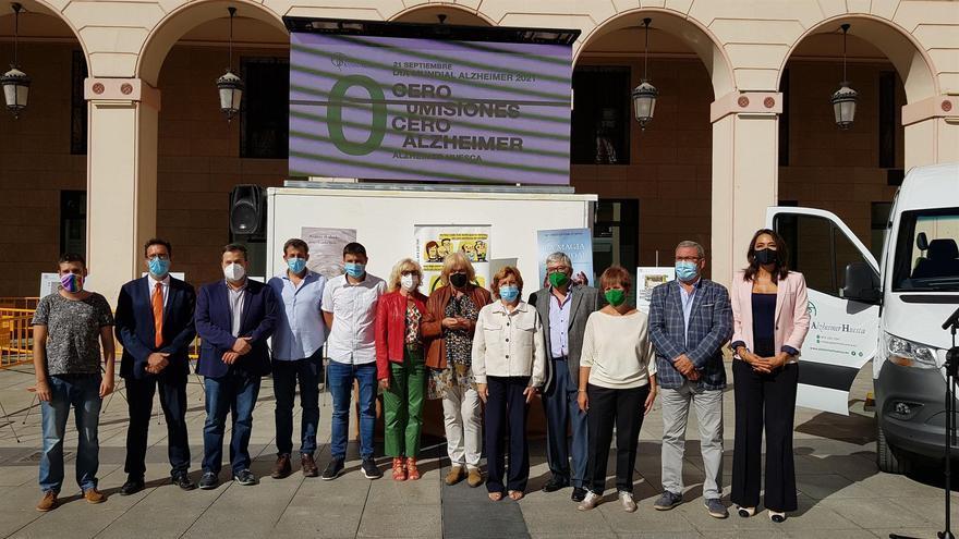 La Asociación Alzheimer Huesca reivindica que la atención a estos enfermos llegue también al medio rural