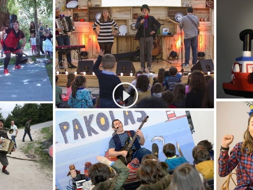 Arranca el mayor festival infantil de Vigo