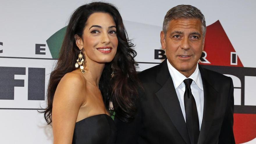 George Clooney y Amal, ¿padres de gemelos?