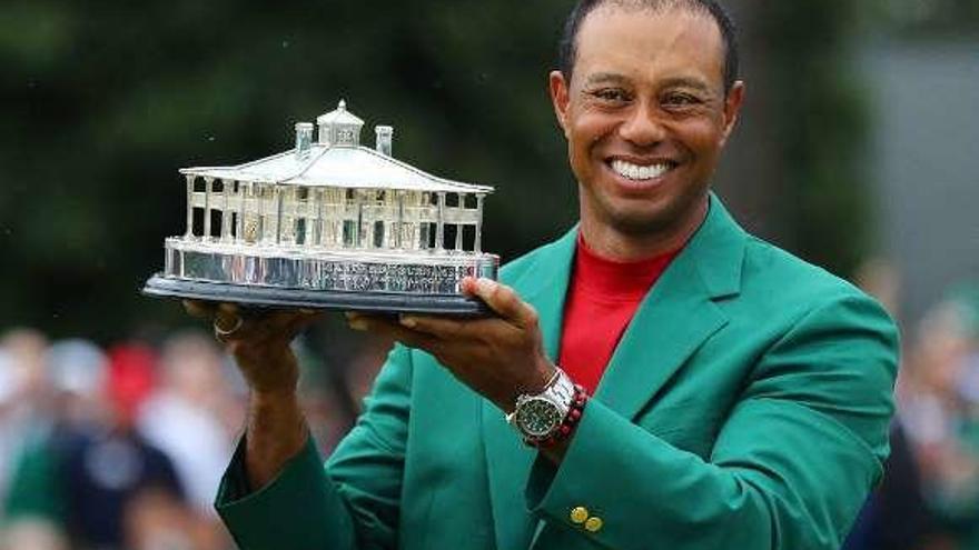 Tras su quinto Masters, otro reto para Tiger Woods: Tokio 2020