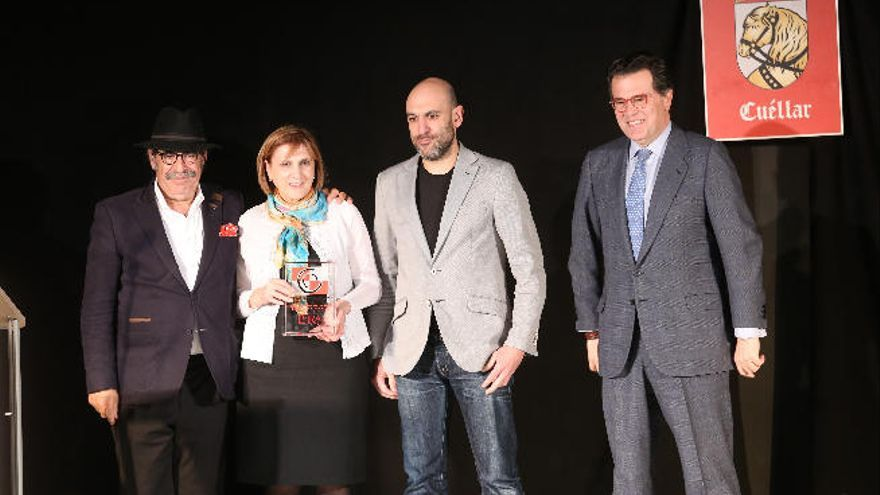 La familia Lera recoge en Cuéllar el premio al mejor restaurante de Castilla y León