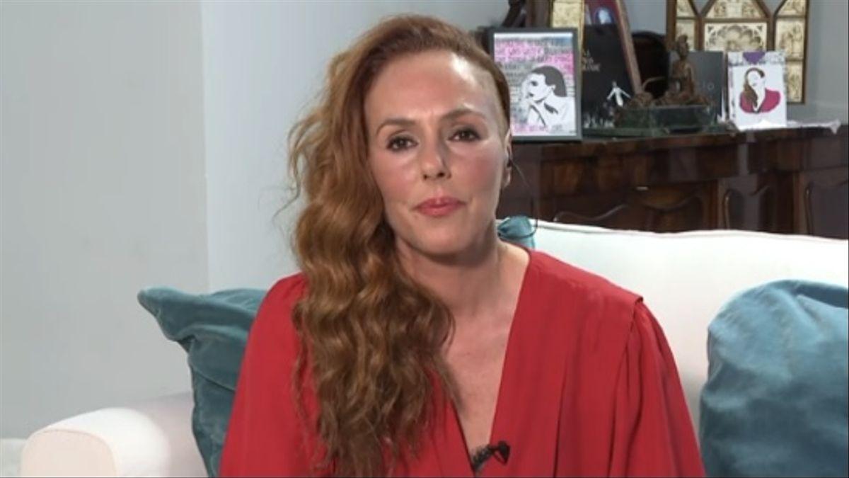 Rocío Carrasco durante la última entrega de su docu-serie.