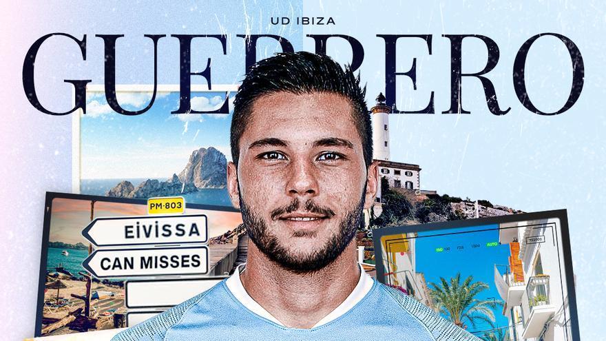 La UD Ibiza anuncia el fichaje del delantero Guerrero