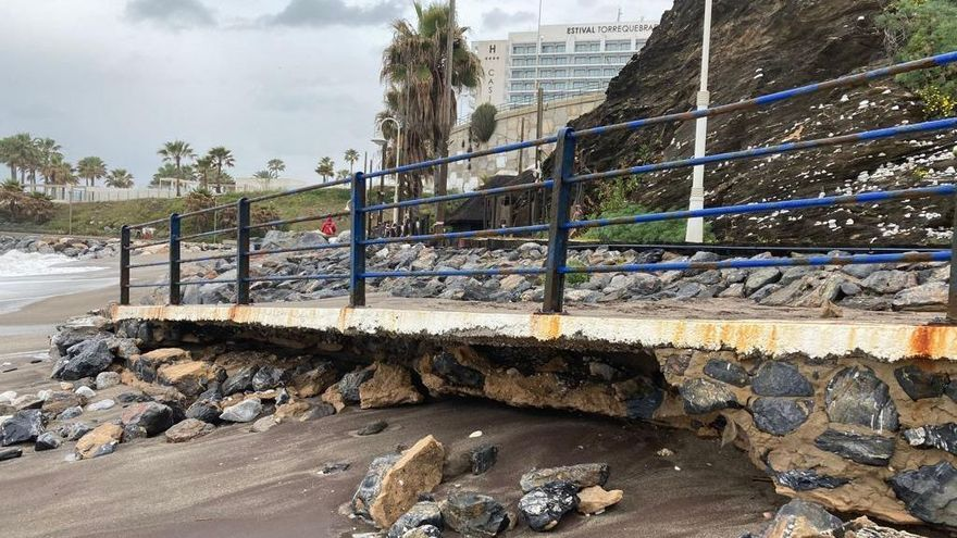 Benalmádena clama por una solución urgente para estabilizar las playas