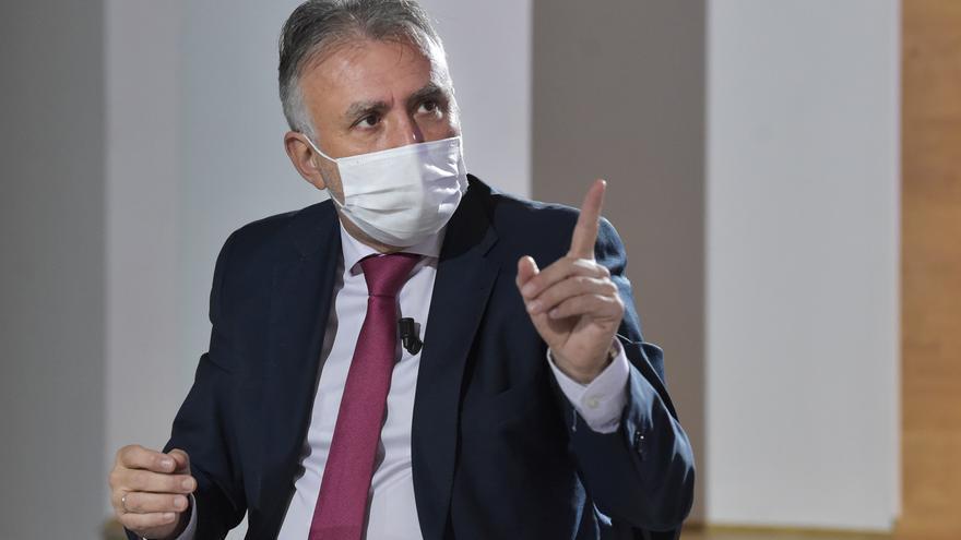 """Ángel Víctor Torres: """"El turista priorizará la seguridad sanitaria y ahí Canarias tiene ventaja"""""""