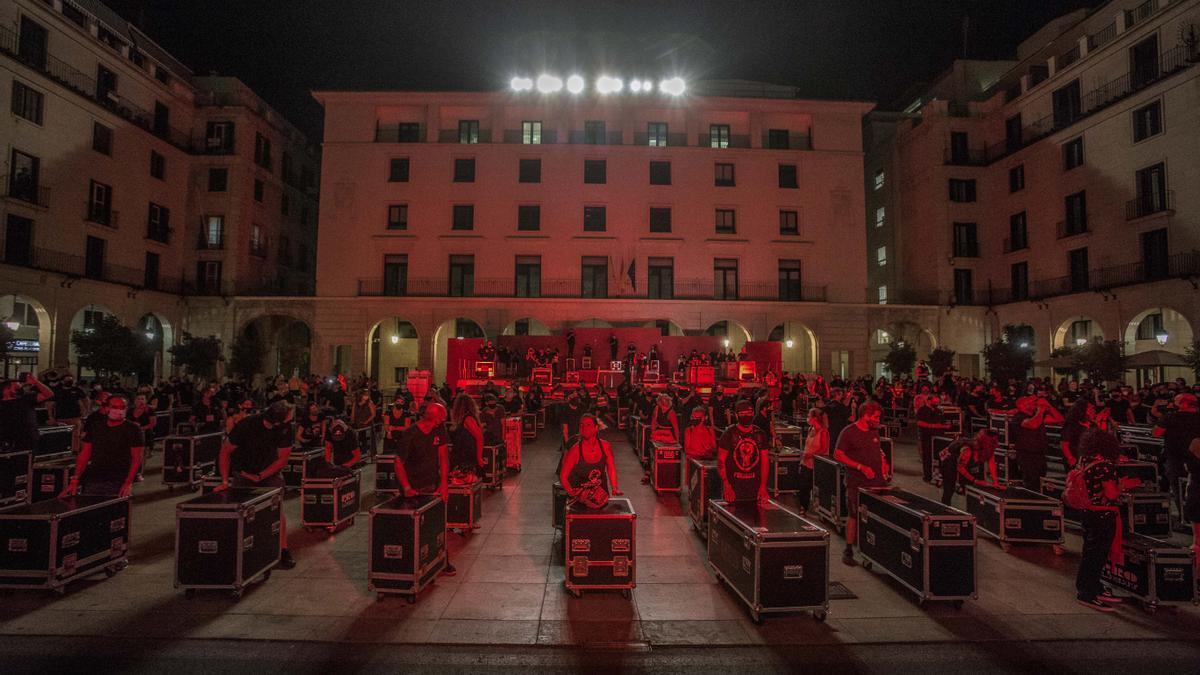 Alerta Roja, manifestación por la cultura