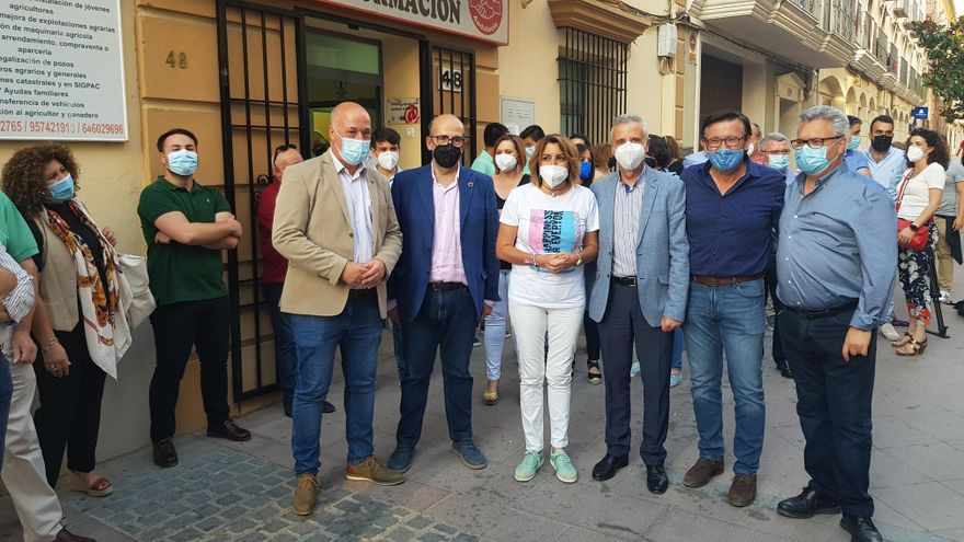 Susana Díaz se reúne con afiliados socialistas en Lucena