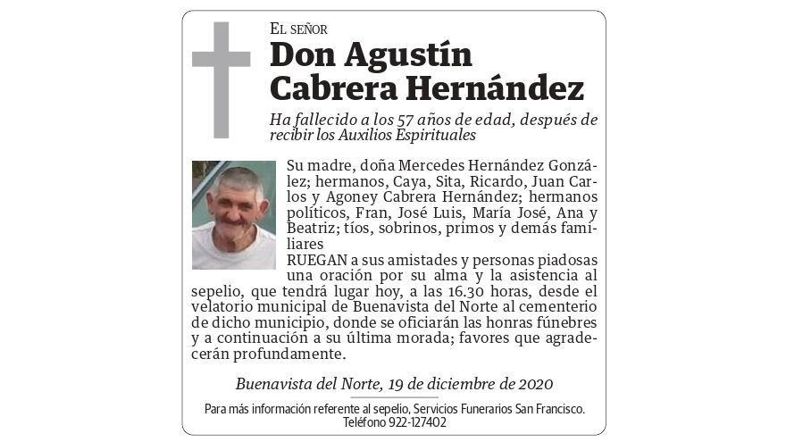 Agustín Cabrera Hernández