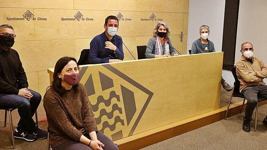 Guanyem Girona pacta amb el govern desencallar  uns 10 milions en inversions