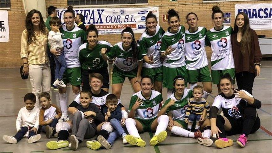 El Cajasur Deportivo supera a un rival directo