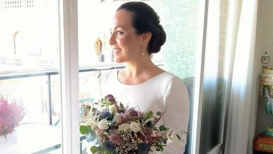 Marta Agustín contrae matrimonio en València