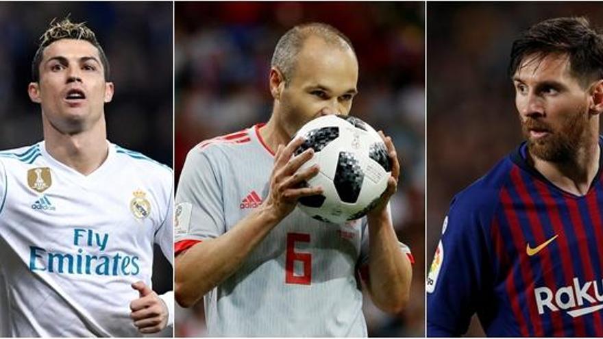Madrid, Barcelona y Atlético se reparten los 'siete reinos'