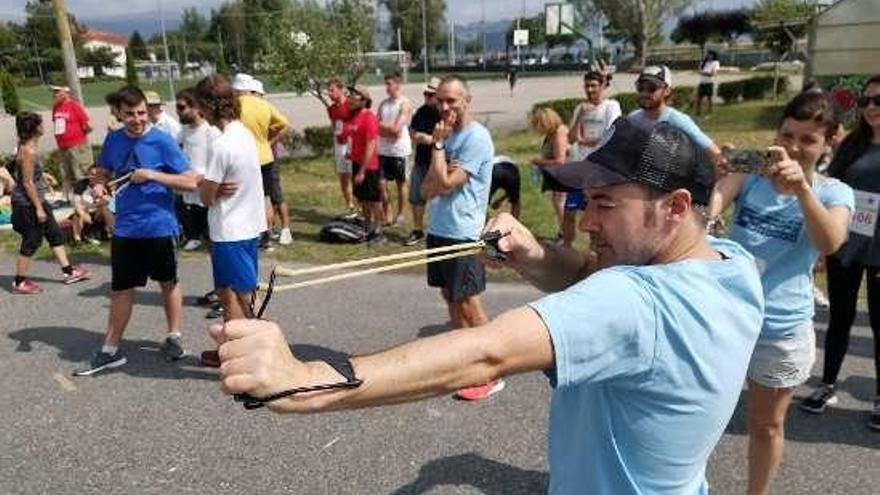 Los juegos tradicionales toman A Xunqueira en las VII Olimpiadas Populares gallegas
