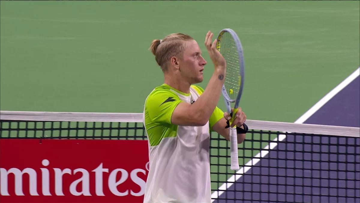 Davidovich supera a Johnson en Indian Wells