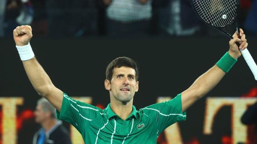 Novak Djokovic corona el seu vuitè Open d'Austràlia davant Dominic Thiem