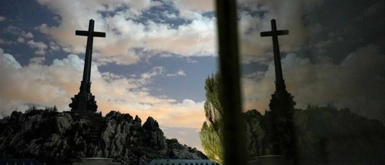 El Valle de los Caídos, en el término de la localidad madrileña de San Lorenzo de El Escorial.