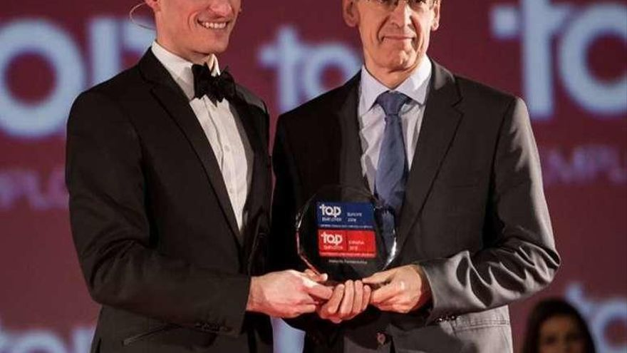 La firma farmacéutica Novartis logra el premio Top Employers España 2018