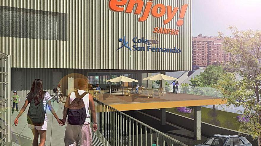 Últimos pasos para la obra del nuevo centro deportivo del San Fernando