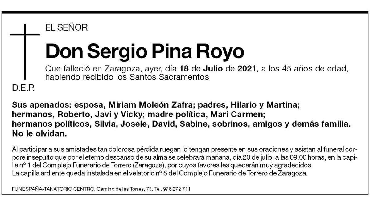 Sergio Pina Royo
