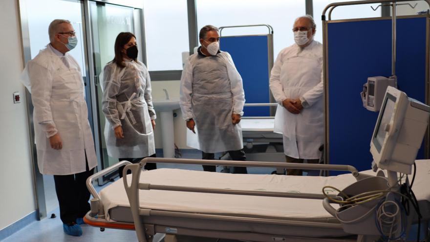 Hospital de Ronda aumenta la capacidad asistencial de su UCI