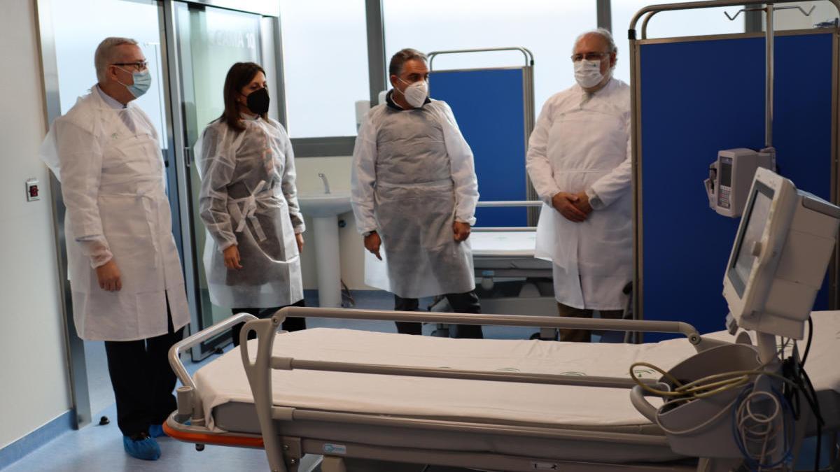 Inauguración de la ampliación de la UCI del Hospital de la Serranía de Ronda