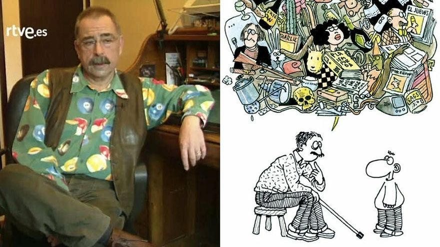 Mor als 73 anys l'humorista gràfic Romeu, un dels cofundadors de la revista 'El Jueves'