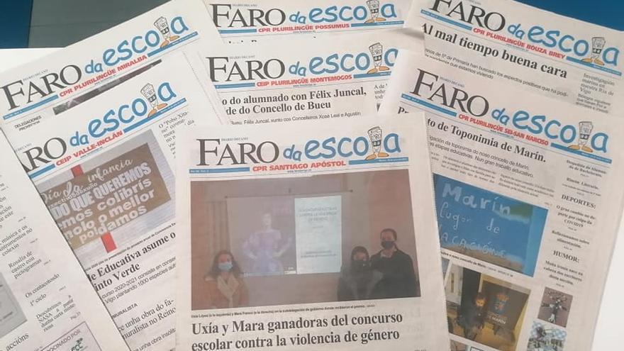 ¡23.000 'Faros da Escola' impresos!