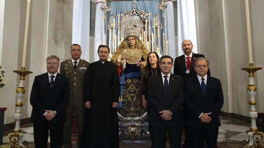 La Concepción recibe la faja de Estado Mayor