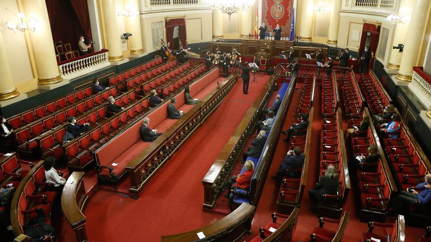 El Senado se rinde a la Camerata Llíria City of Music