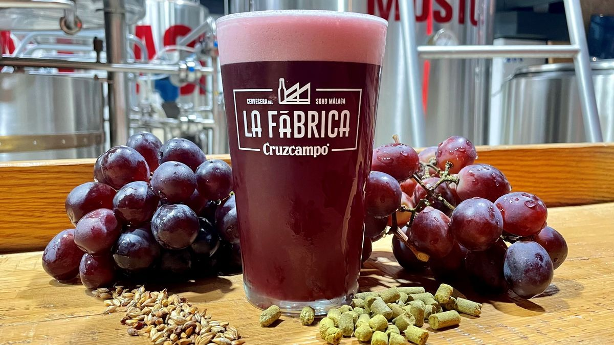 Los maestros cerveceros de La Fábrica de Cruzcampo crean una original cerveza que recuerda al vino tinto