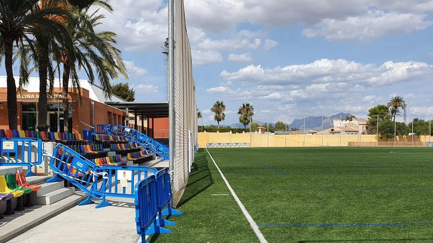 La limpieza de zonas deportivas de San Vicente vuelve a quedar en el aire