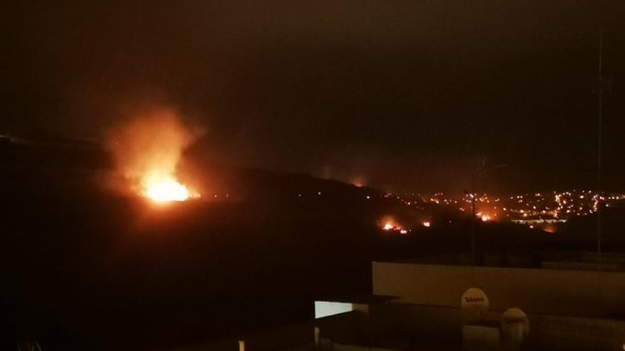Incendio en Almatriche
