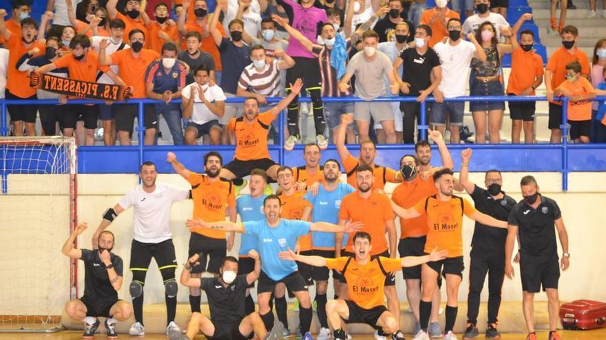 El Fútbol Sala Picassent sube a segunda división B