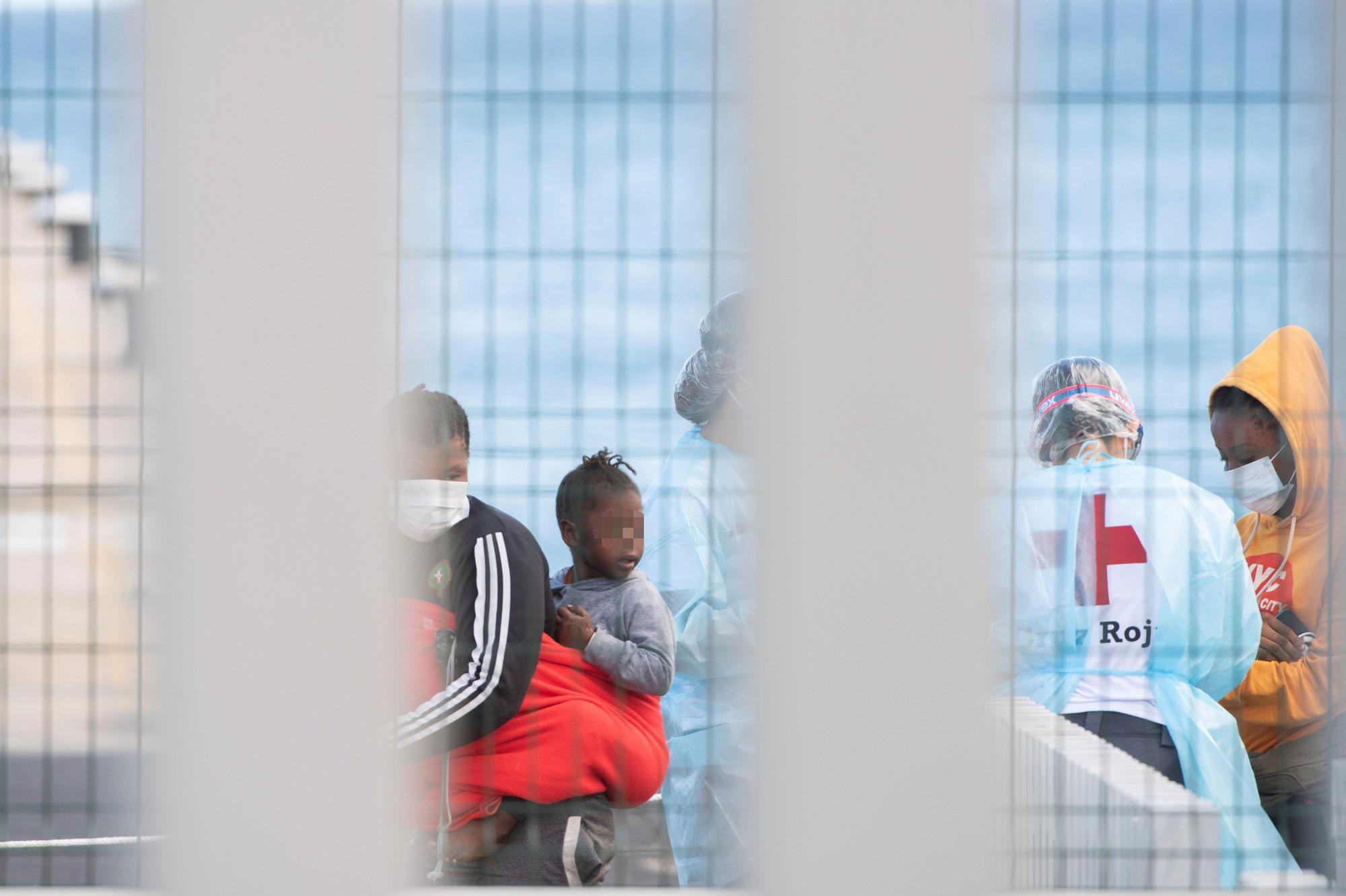 Llegada de migrantes a Fuerteventura (22/06/21)