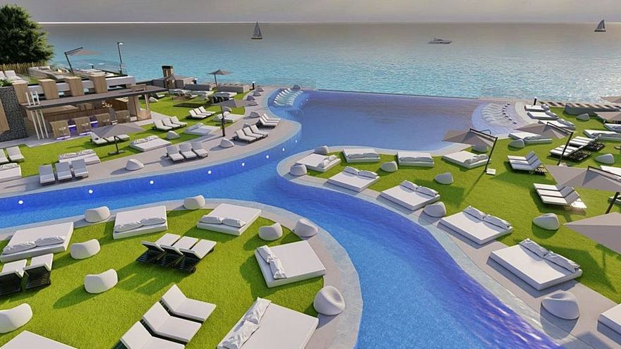 Cordial, Del Castillo y Silva construyen un beach club con spa y piscina infinita
