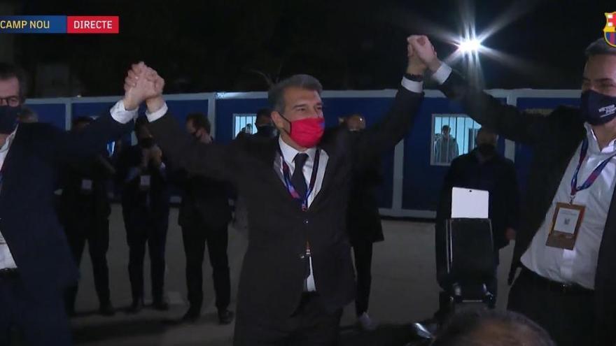 Laporta torna a presidir el Barça