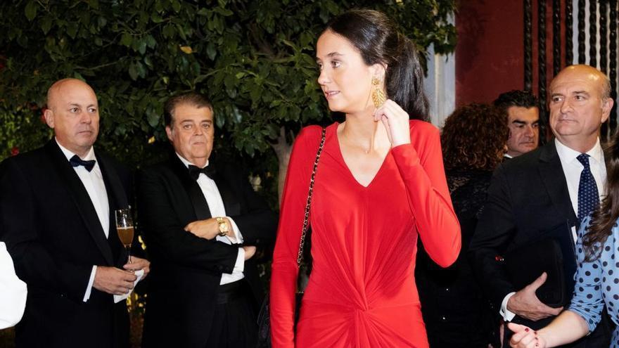 Victoria Federica aprueba con nota en su primer acto en solitario