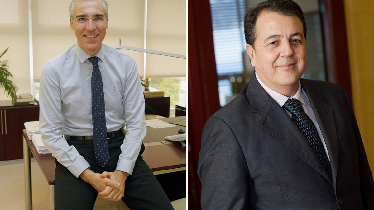 Francisco Conde y Juan Antonio Muñóz Codina.