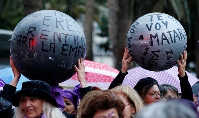 Manifestación por el Día Internacional de la ...