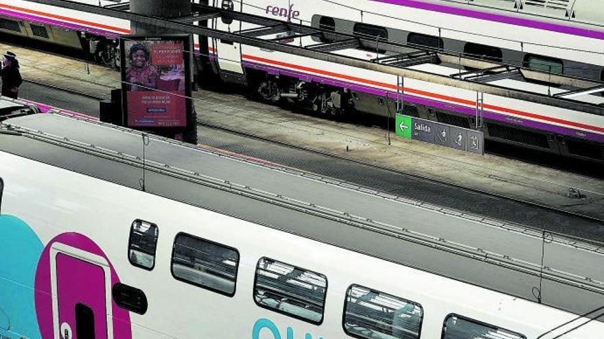 La competencia alumbra un tren más barato
