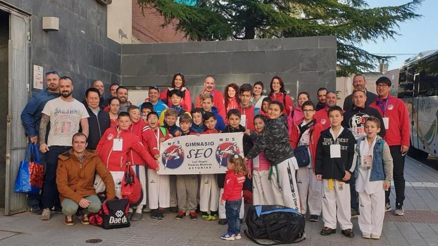El Club Seo logra 11 medallas en el Open de Zamora de Taekwondo