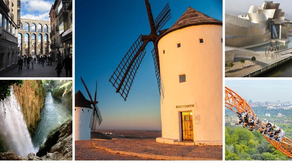 Algunos de los atractivos de las comunidades que ofrecen al turismo nacional descuentos en sus vacaciones.